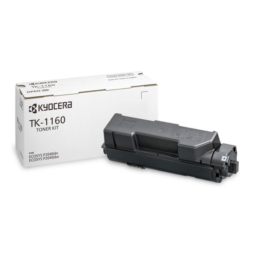 Тонер-картридж Kyocera TK-1160 Black 7,2K для P2040dn, P2040idw (1T02RY0NL0)