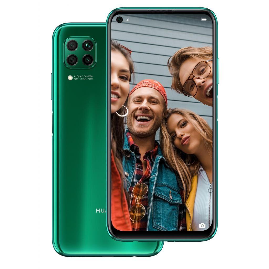 Мобильный телефон Huawei P40 Lite 6/128GB Crush Green (51095CJX)