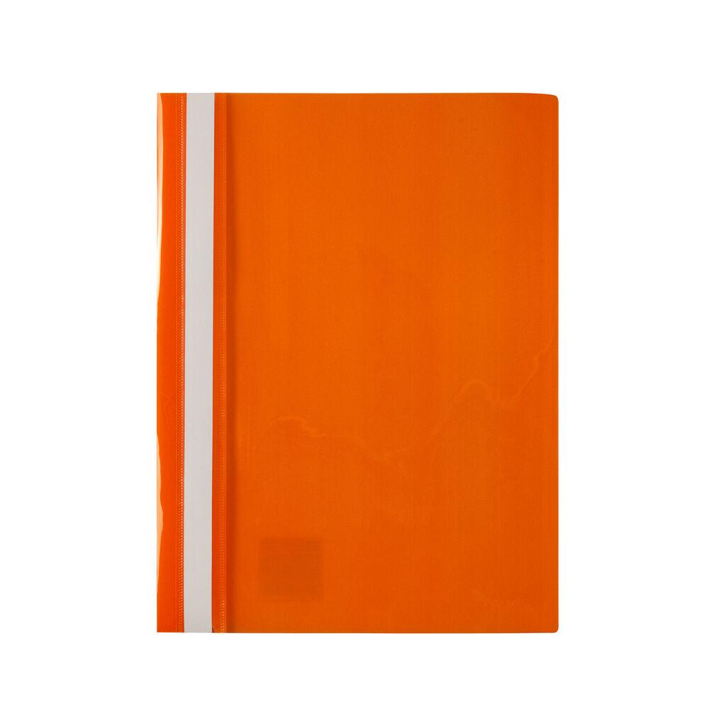 Папка-скоросшиватель Axent А4 120/150 мкм Оранжевая (1317-28-A)