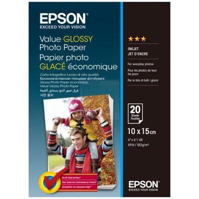 Бумага EPSON 10х15 Value Glossy Photo (C13S400037)
