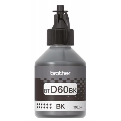 Контейнер с чернилами Brother BT-D60BK 108ml (BTD60Bk)