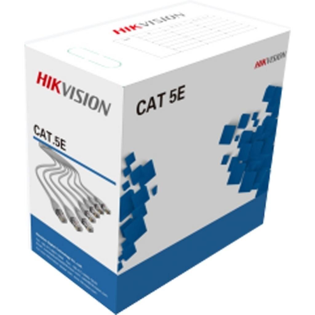 Кабель сетевой HikVision UTP 305м cat.5e, CU, 4*2*0,48мм (DS-1LN5E-E)