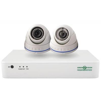 Комплект видеонаблюдения GreenVision GV-IP-K-S33/02