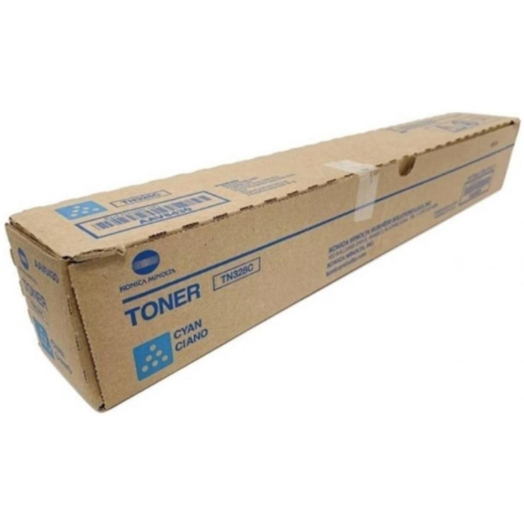 Тонер-картридж KONICA MINOLTA TN-328C Cyan, для Bizhub C250i/300i/C360i (AAV8450)