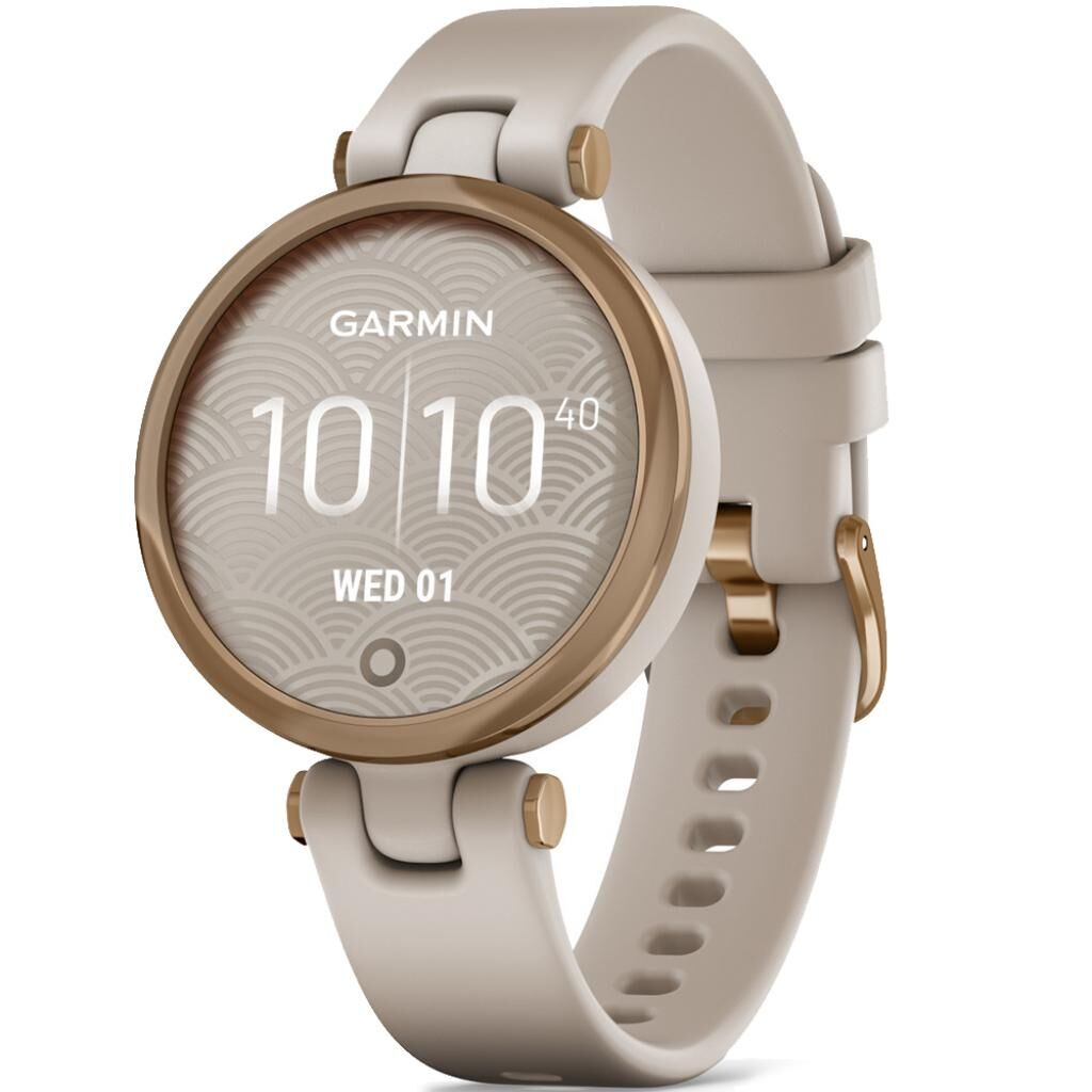 Смарт-часы Garmin Lily, RoseGold, LightSand, Silicone (010-02384-11)