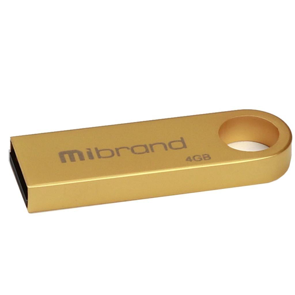 USB флеш накопитель Mibrand 4GB Puma Gold USB 2.0 (MI2.0/PU4U1G)