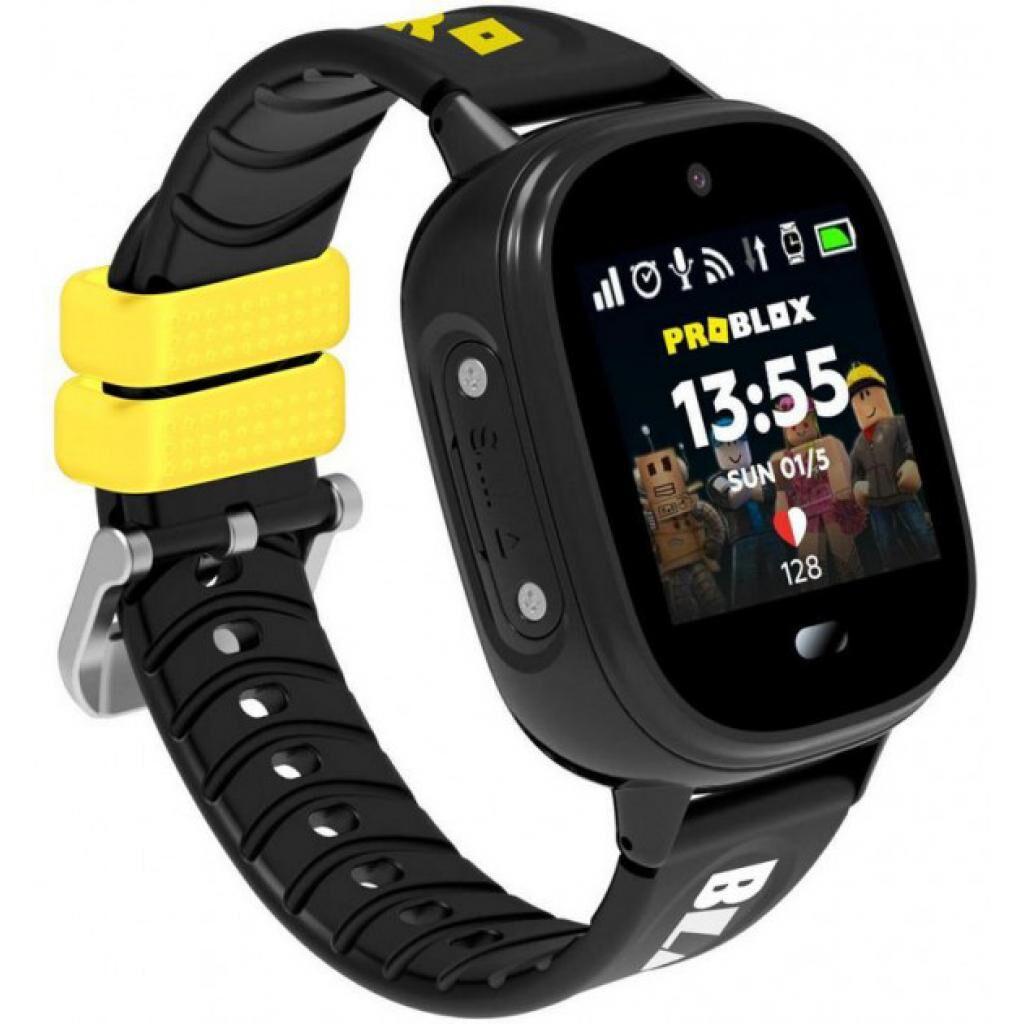 Смарт-часы Gelius ProBlox GP-PK005 (IP67) Black Kids smart watch, GPS tracker (ProBloxGP-PK005(IP67)Black)