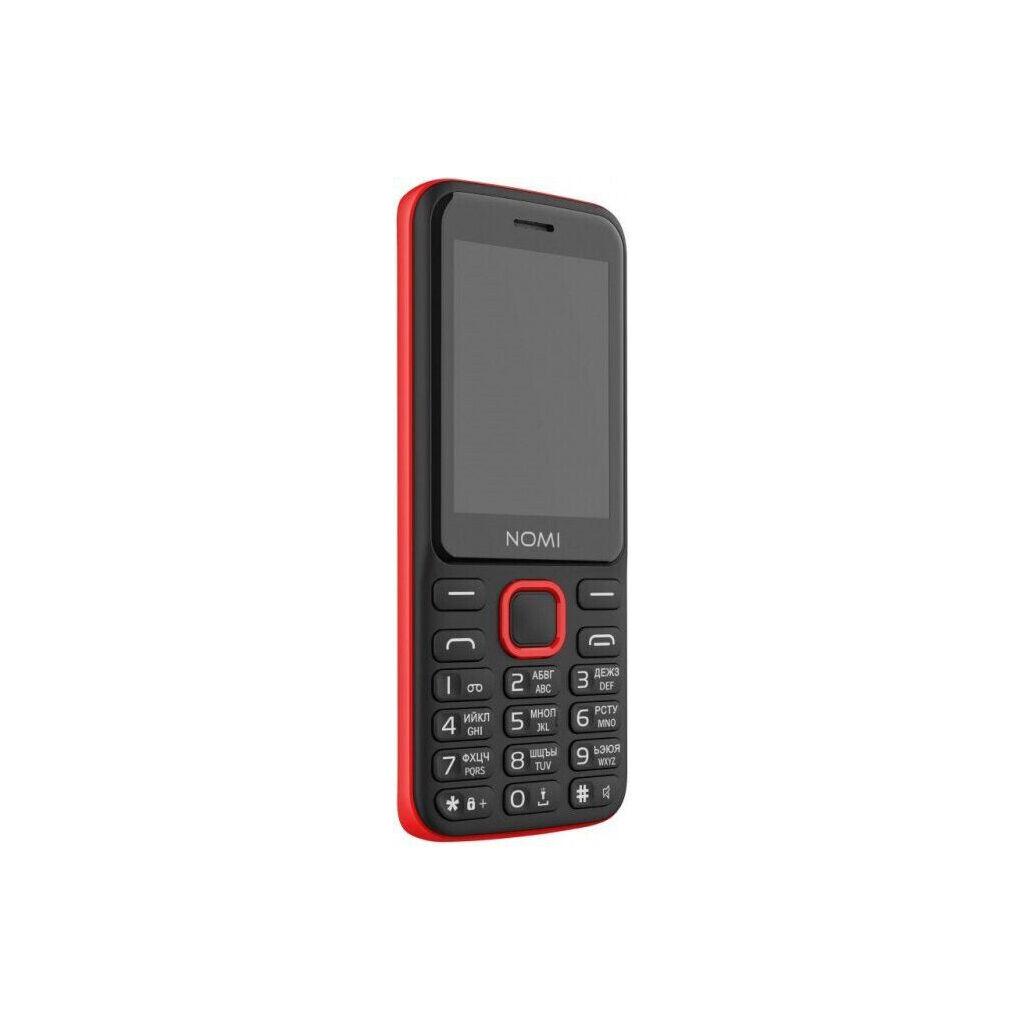 Мобильный телефон Nomi i2401+ Black Red