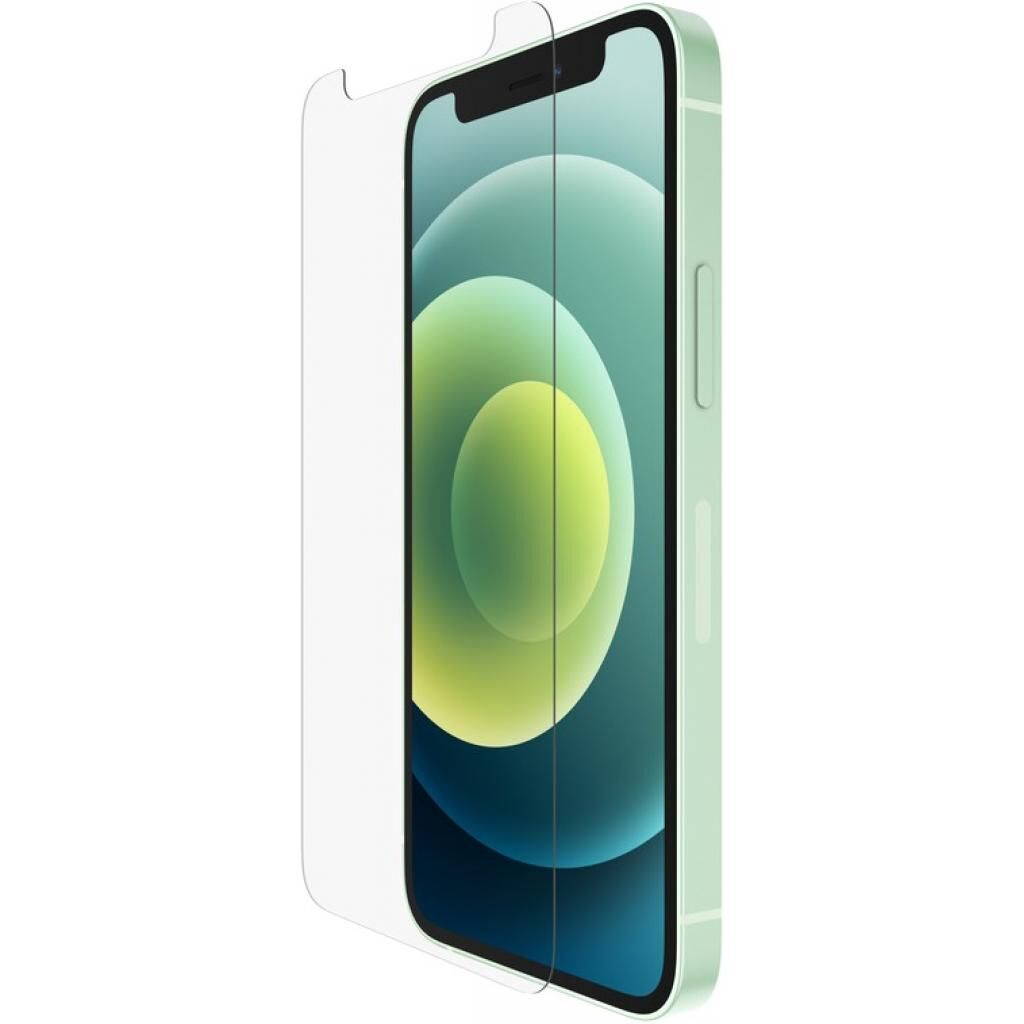 Стекло защитное Belkin TemperedGlass Anti-Microbial Apple iPhone 12 Mini (OVA020ZZ)