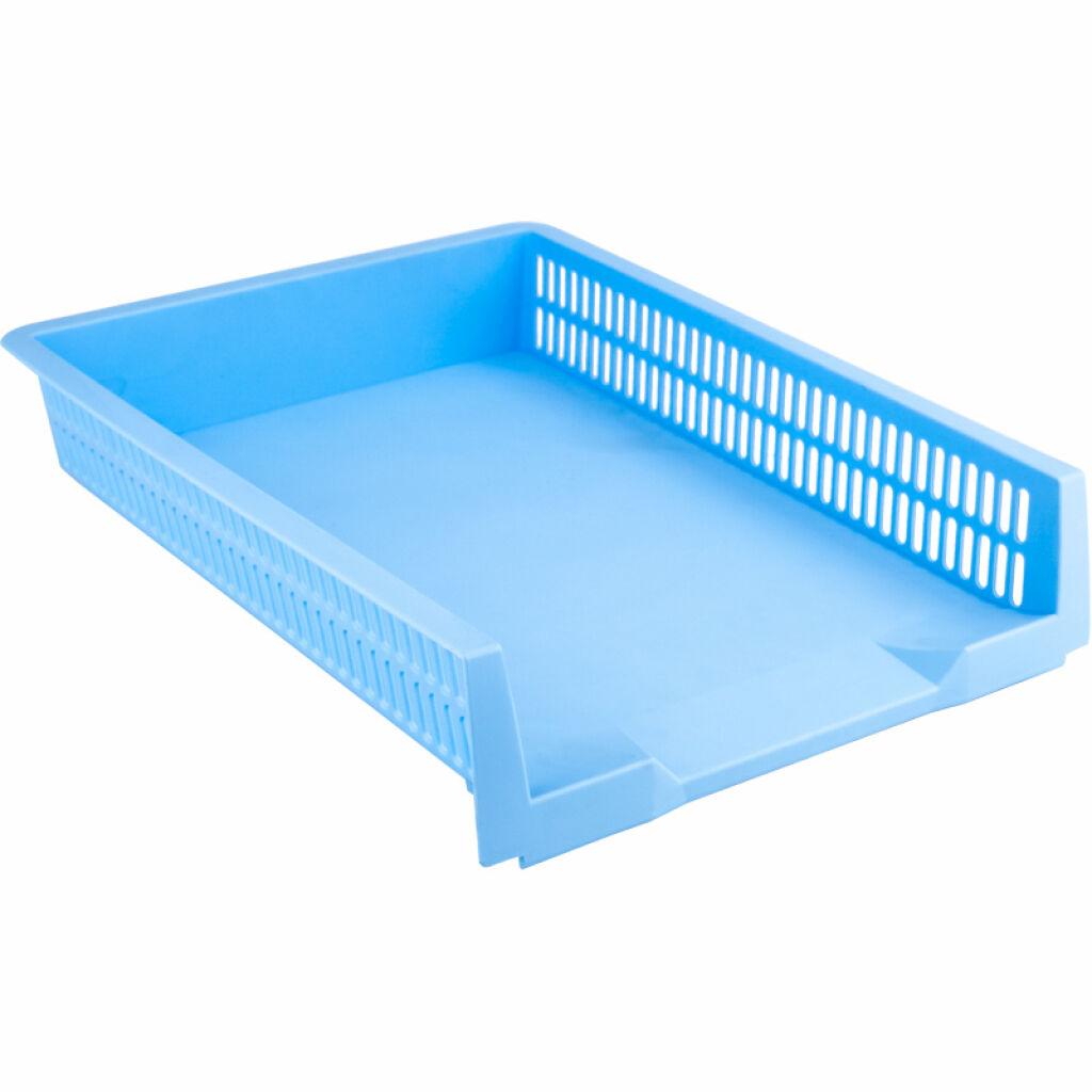 Лоток для бумаг Axent горизонтальный Pastelini 330х263х67 мм голубой (4040-22-A)