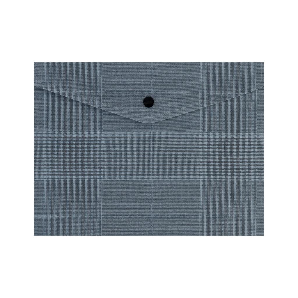 Папка - конверт Axent А5 180 мкм Tartan Gray (1496-17-A)