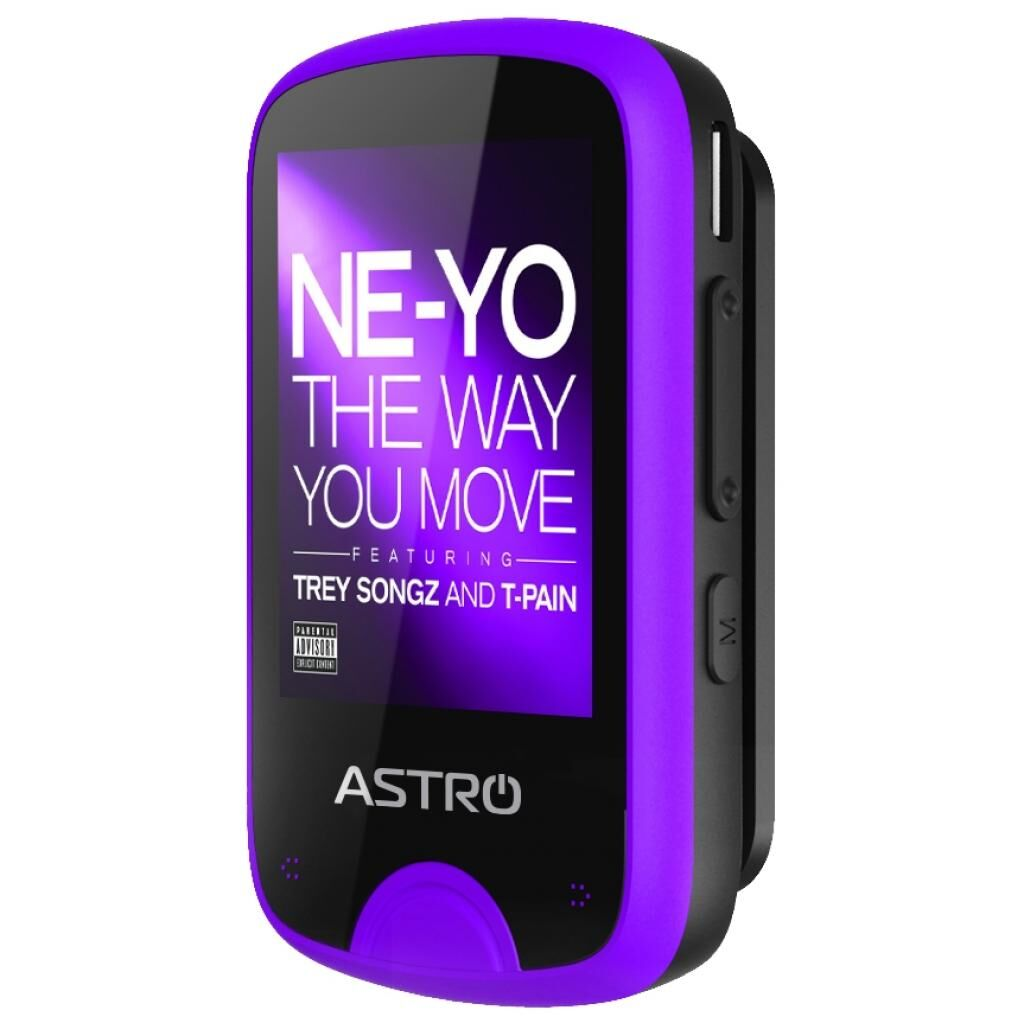 MP3 плеер Astro M5 Black/Purple