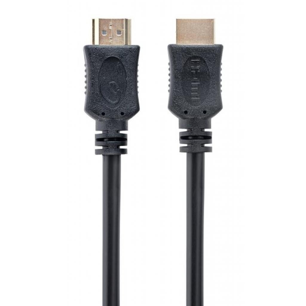 Кабель мультимедийный HDMI to HDMI 0.5m V.1.4 Cablexpert (CC-HDMI4L-0.5M)