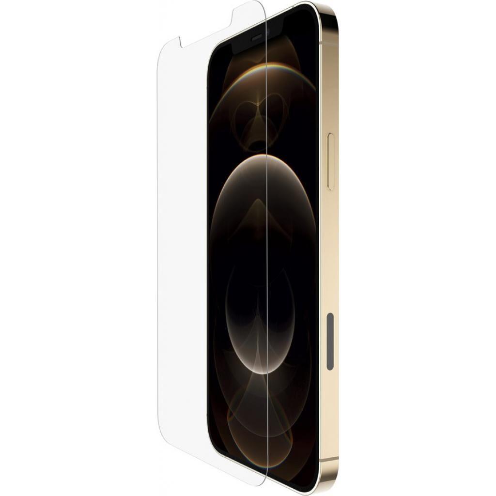 Стекло защитное Belkin TemperedGlass Anti-Microbial Apple iPhone 12 Pro Max (OVA023ZZ)