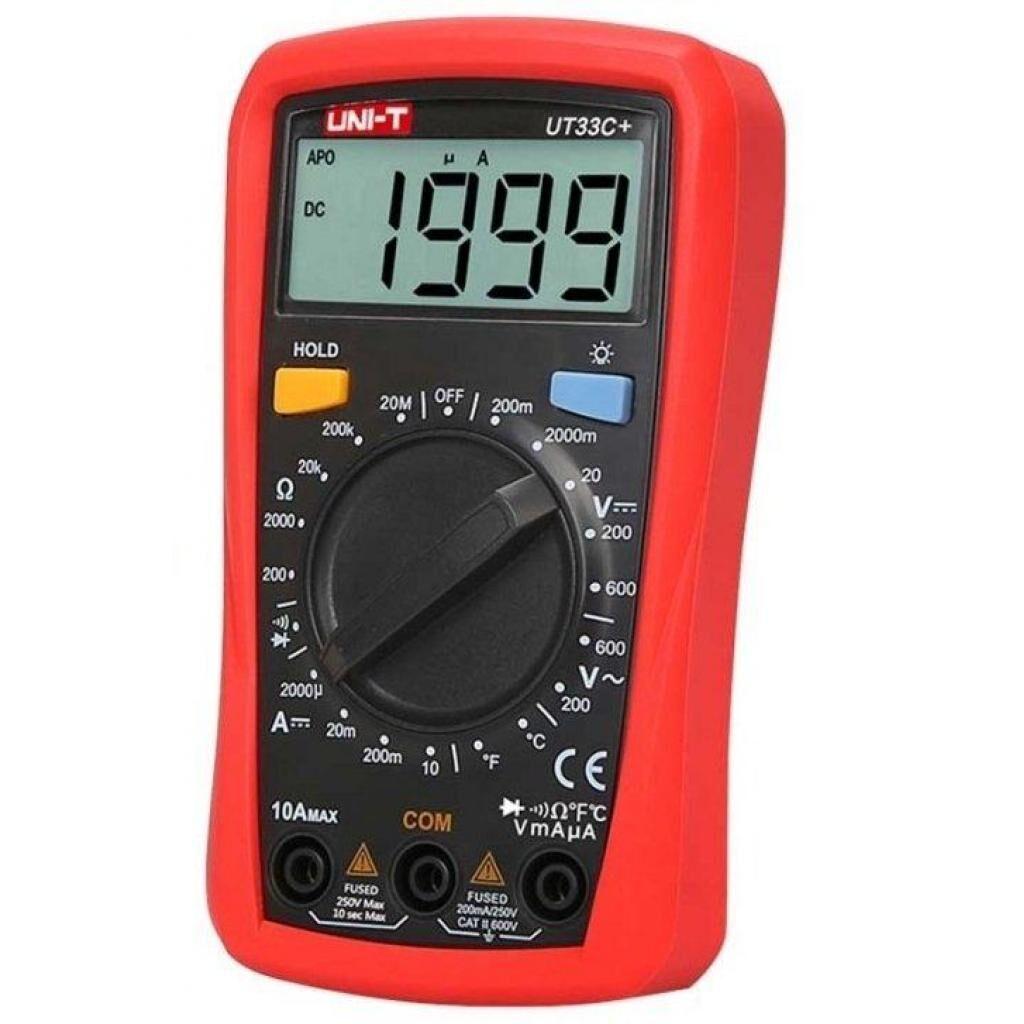 Цифровой мультиметр UNI-T UT33С+