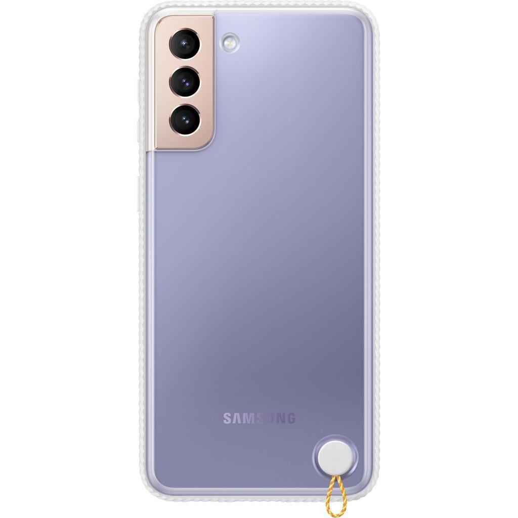 Чехол для моб. телефона Samsung Clear Protective Cover Samsung Galaxy S21+ White (EF-GG996CWEGRU)