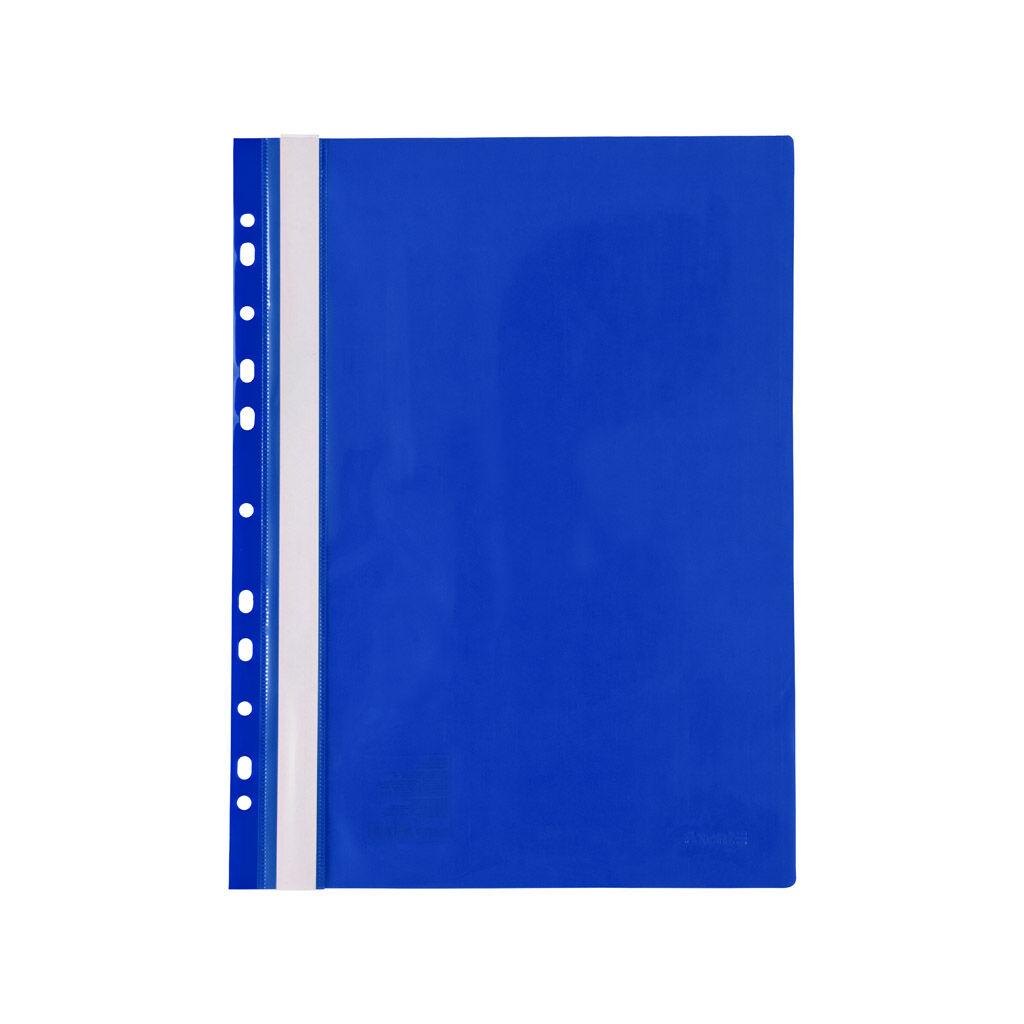 Папка-скоросшиватель Axent А4 с перфорацией 120/150 мкм Синяя (1318-02-A)