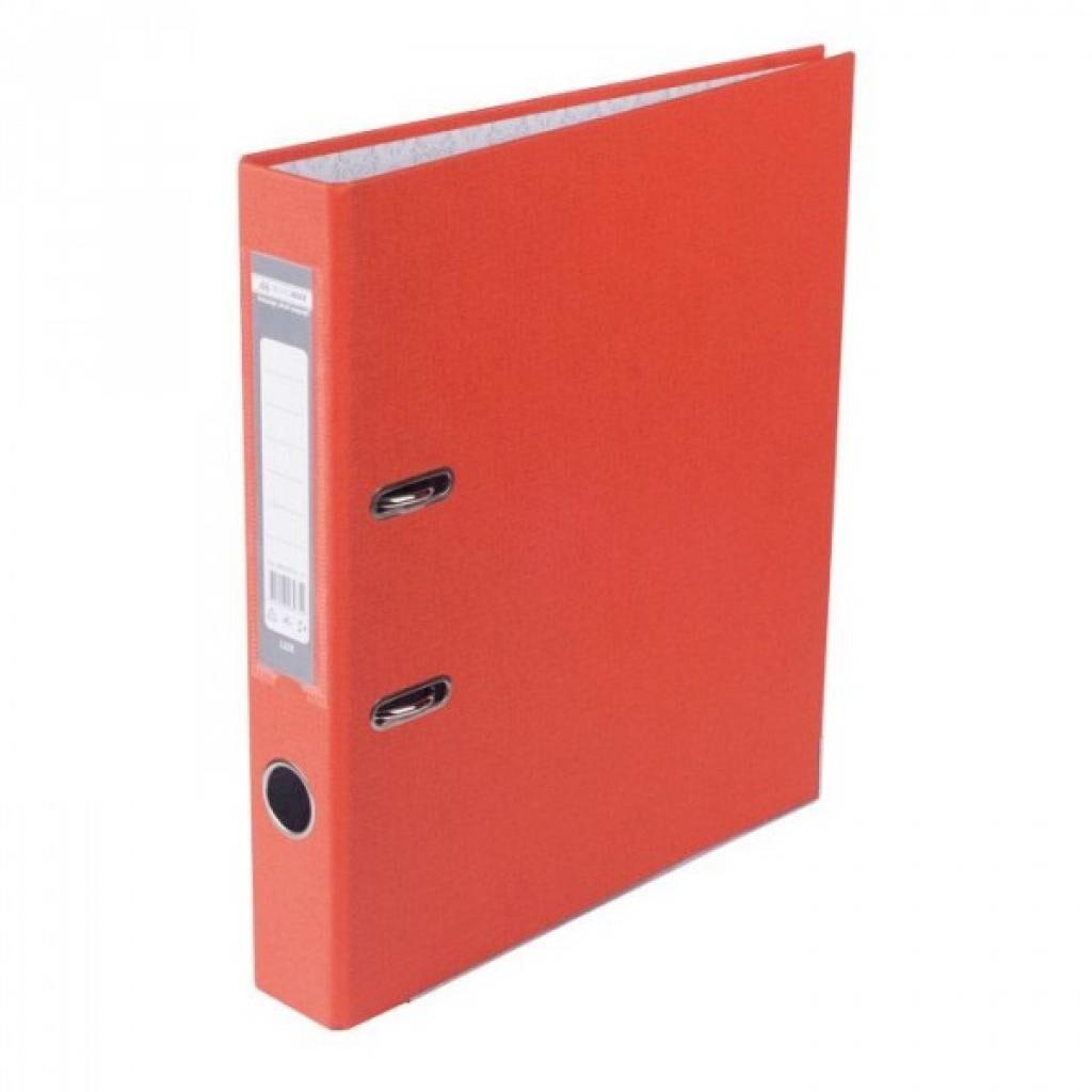 Папка - регистратор Buromax А4, 50мм, JOBMAX PP, orange, built-up (BM.3012-11c)