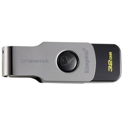 USB флеш накопитель Kingston 32GB DT SWIVL Metal USB 3.0 (DTSWIVL/32GB)
