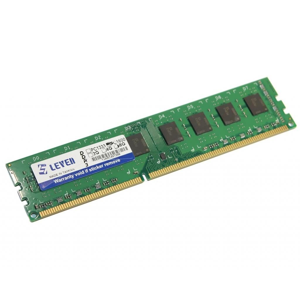 Модуль памяти для компьютера DDR3 4GB 1600 MHz LEVEN (JR3U1600172308-4M / JR3UL1600172308-4M)