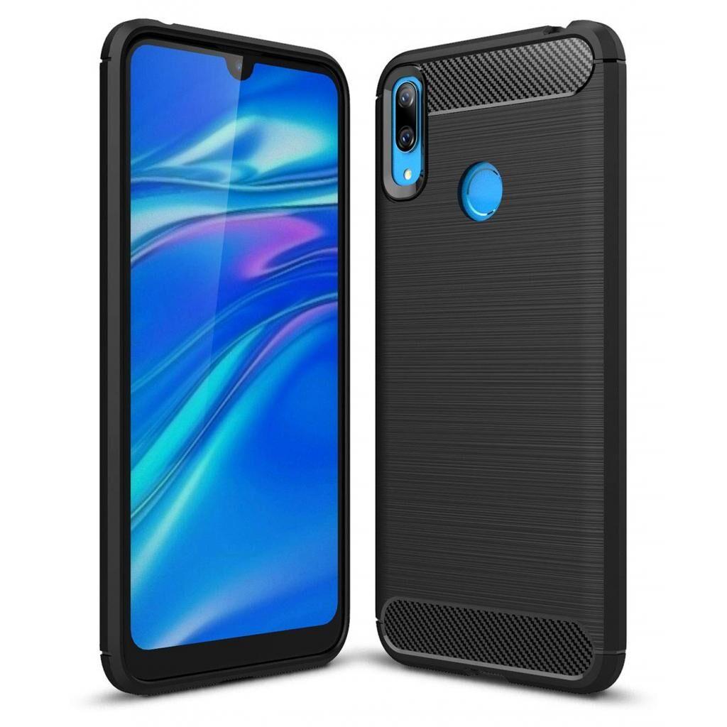 Чехол для моб. телефона Laudtec для HuaweiY72019 Carbon Fiber (Black) (LT-HY72019B)