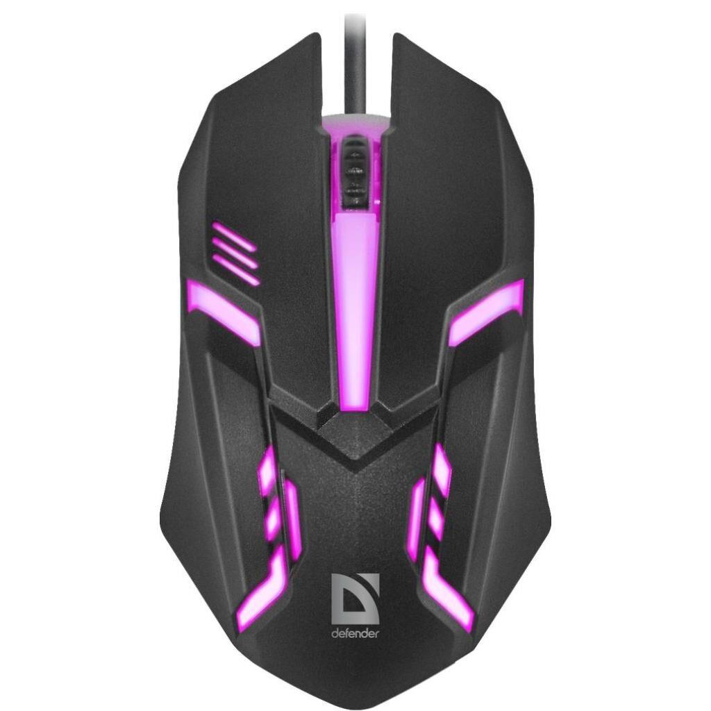 Мышка Defender Cyber MB-560L Black (52560)