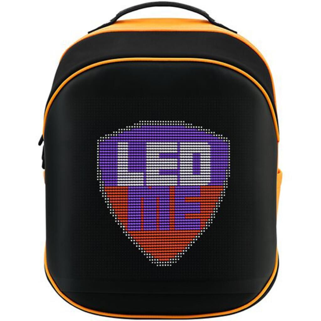 Рюкзак PRESTIGIO LEDme 25L Black/Orange LED display 64*64 pixels (PBLED125BO)