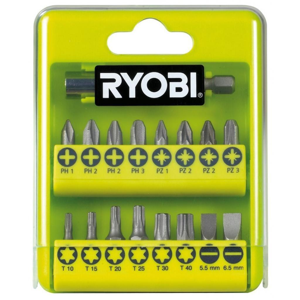 Набор бит Ryobi RAK17SD, 17 од. (5132002550)