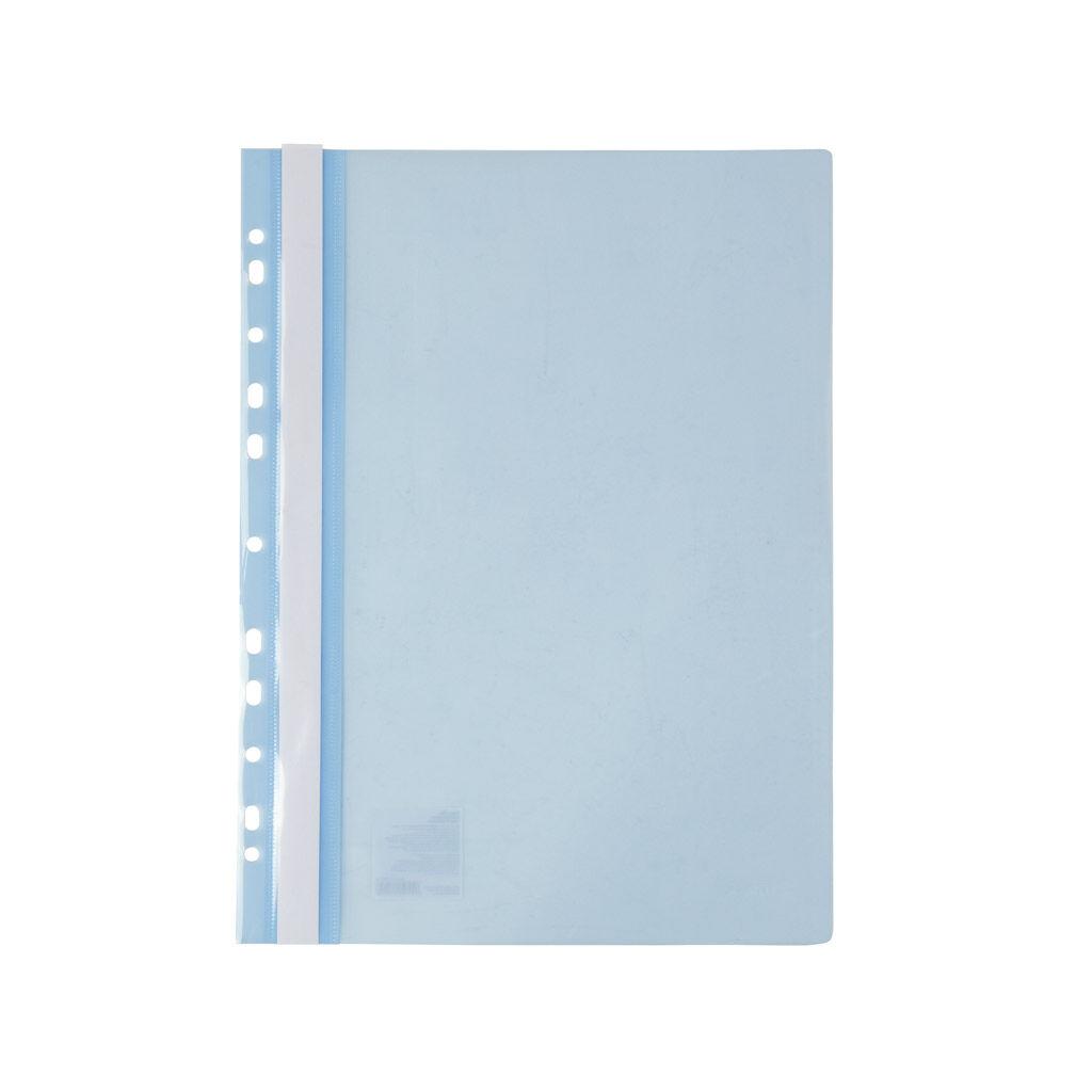 Папка-скоросшиватель Axent А4 с перфорацией 120/150 мкм Светло-голубая (1318-07-A)