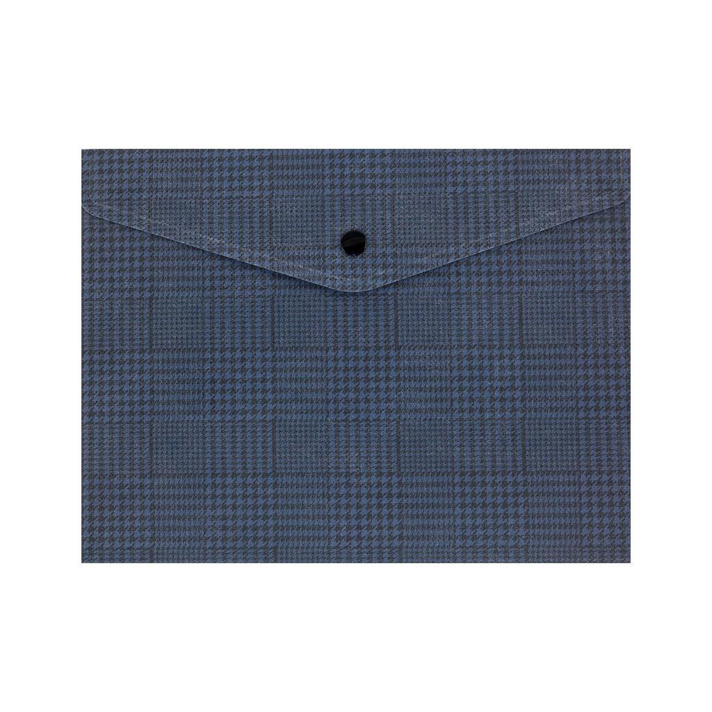 Папка - конверт Axent А5 180 мкм Tartan Blue (1496-19-A)